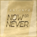 Antonyo - Now Or Never (Original Mix) (Single)