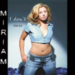 Miriam - I Don't Care